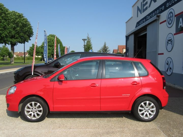 Volkswagen Polo 1.4 80CH UNITED 5P Rouge Occasion - 5