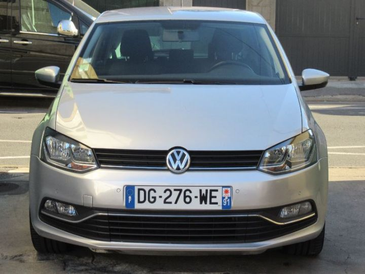 Volkswagen Polo 1.4 TDI 90CH BLUEMOTION TECHNOLOGY CONFORTLINE DSG7 GRIS Occasion - 6