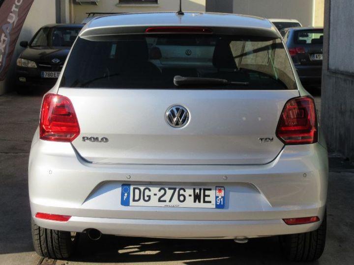 Volkswagen Polo 1.4 TDI 90CH BLUEMOTION TECHNOLOGY CONFORTLINE DSG7 GRIS Occasion - 7