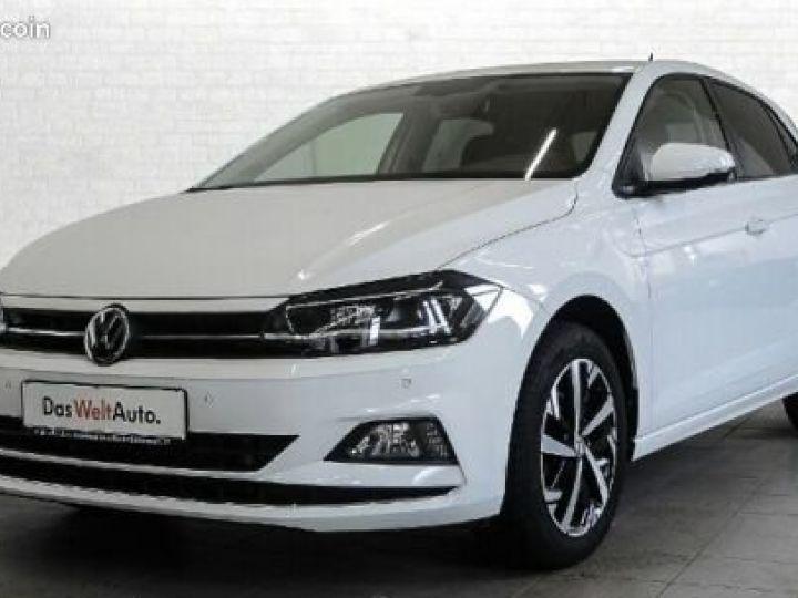 Volkswagen Polo 1,6 TDI Highline Blanc - 1
