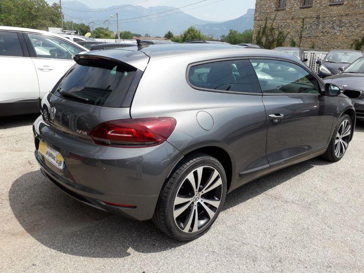 Volkswagen Scirocco VOLKSWAGEN SCIROCCO 2.0 TDI 140 EDITION SPORT FINITION R-LINE GRIS FONCE - 5