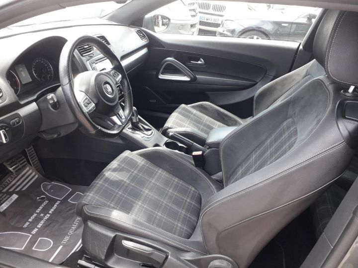 Volkswagen Scirocco VOLKSWAGEN SCIROCCO 2.0 TDI 140 EDITION SPORT FINITION R-LINE GRIS FONCE - 7