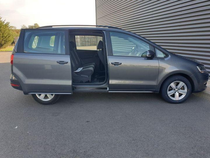 Volkswagen Sharan 2 0 tdi 140 confortline oiiii Gris Occasion - 5