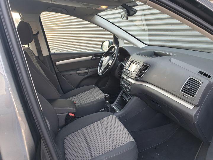 Volkswagen Sharan 2 0 tdi 140 confortline oiiii Gris Occasion - 7