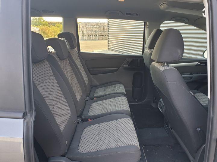 Volkswagen Sharan 2 0 tdi 140 confortline oiiii Gris Occasion - 8