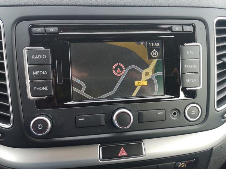 Volkswagen Sharan 2 0 tdi 140 confortline oiiii Gris Occasion - 12
