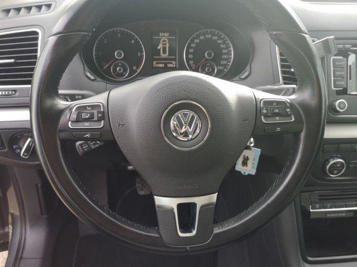 Volkswagen Sharan 2 0 tdi 140 confortline oiiii Gris Occasion - 16