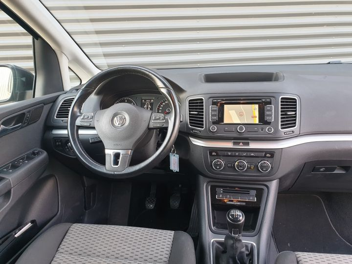 Volkswagen Sharan 2 2,0 TDI 140 CONFORTLINE Gris Métallisé Occasion - 6