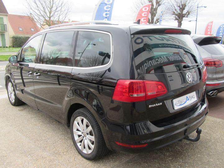 Volkswagen Sharan 7 PLACES 2.0 TDI 140CH BLUEMOTION FAP CARAT DSG6 Noir Occasion - 2