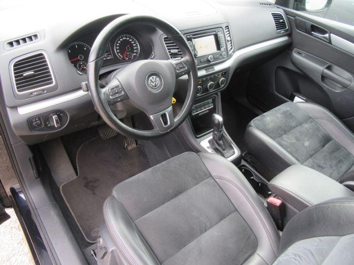 Volkswagen Sharan 7 PLACES 2.0 TDI 140CH BLUEMOTION FAP CARAT DSG6 Noir Occasion - 5
