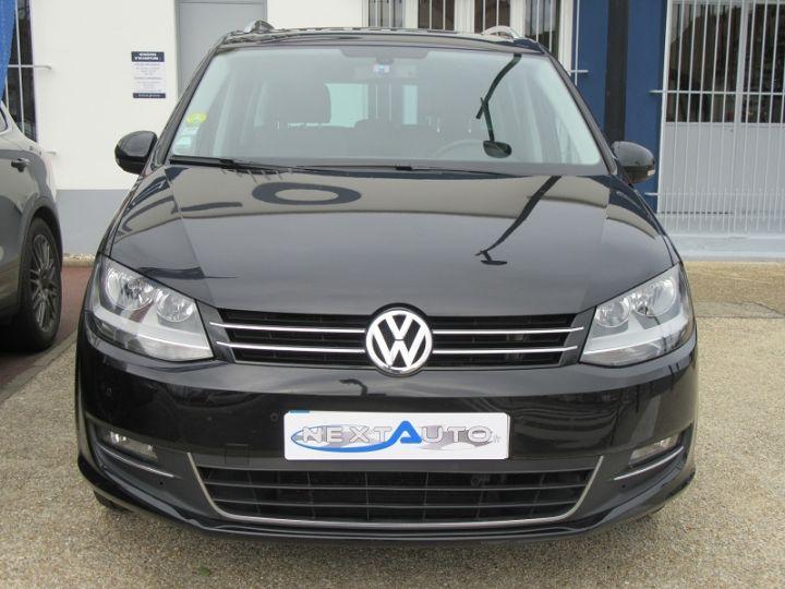 Volkswagen Sharan 7 PLACES 2.0 TDI 140CH BLUEMOTION FAP CARAT DSG6 Noir Occasion - 6