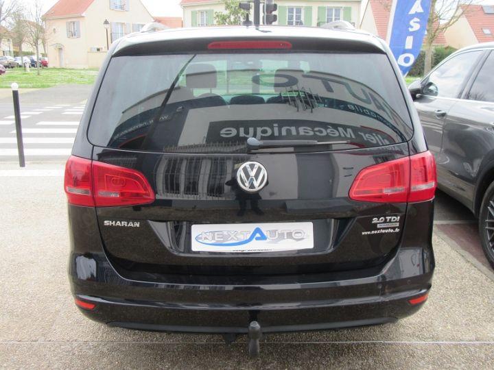Volkswagen Sharan 7 PLACES 2.0 TDI 140CH BLUEMOTION FAP CARAT DSG6 Noir Occasion - 7