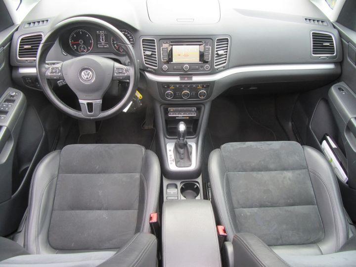 Volkswagen Sharan 7 PLACES 2.0 TDI 140CH BLUEMOTION FAP CARAT DSG6 Noir Occasion - 8