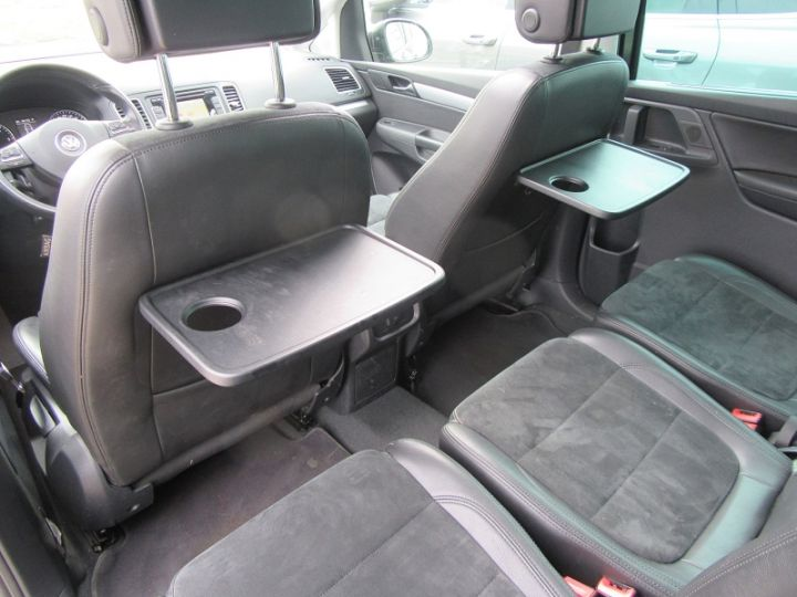 Volkswagen Sharan 7 PLACES 2.0 TDI 140CH BLUEMOTION FAP CARAT DSG6 Noir Occasion - 10