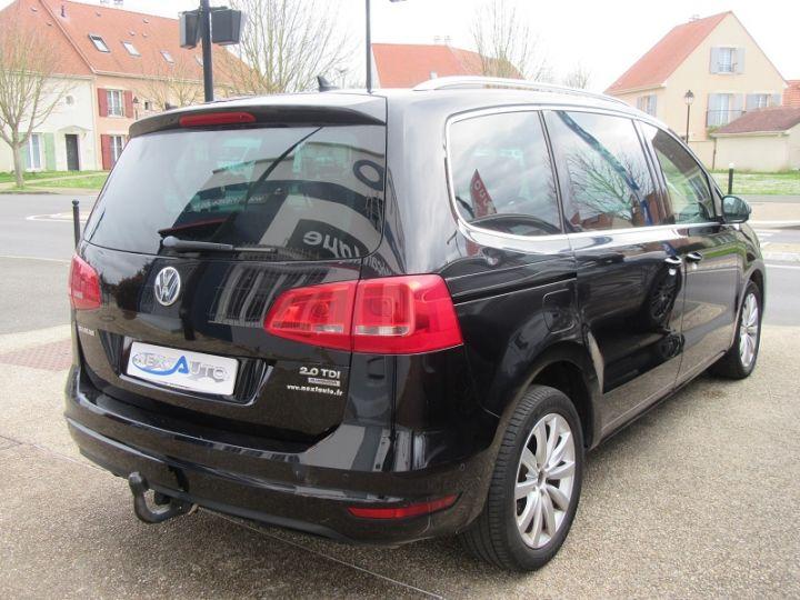 Volkswagen Sharan 7 PLACES 2.0 TDI 140CH BLUEMOTION FAP CARAT DSG6 Noir Occasion - 11