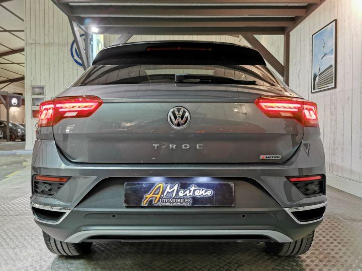 Volkswagen T-Roc 2.0 TDI 150 CV CARAT EXCLUSIVE 4MOTION DSG Gris - 4