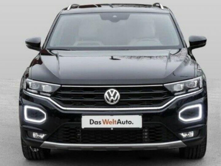 Volkswagen T-Roc 2.0 TSI 190 CARAT 4MOTION DSG7 (08/2018)TOIT PANO. noir métal nacré - 1