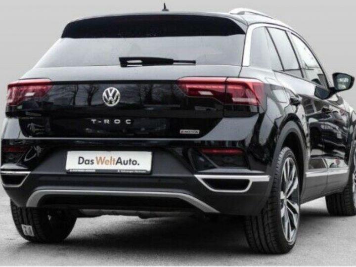 Volkswagen T-Roc 2.0 TSI 190 CARAT 4MOTION DSG7 (08/2018)TOIT PANO. noir métal nacré - 2
