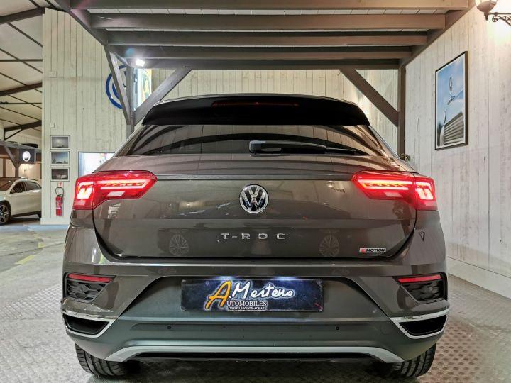 Volkswagen T-Roc 2.0 TSI 190 CV CARAT EXCLUSIVE 4MOTION DSG Gris - 4