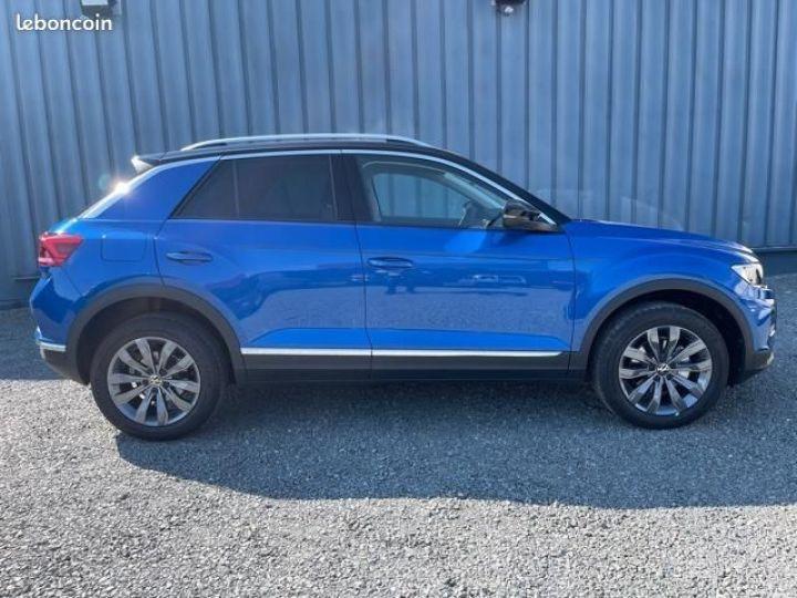 Volkswagen T-Roc TSI 150 carat dsg7 Bleu - 5