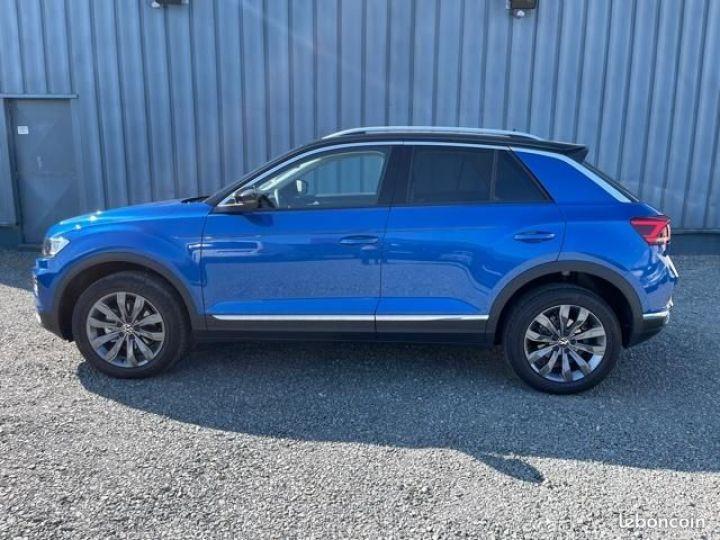 Volkswagen T-Roc TSI 150 carat dsg7 Bleu - 6