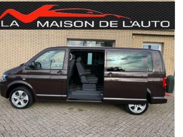 Volkswagen T5 marron - 9
