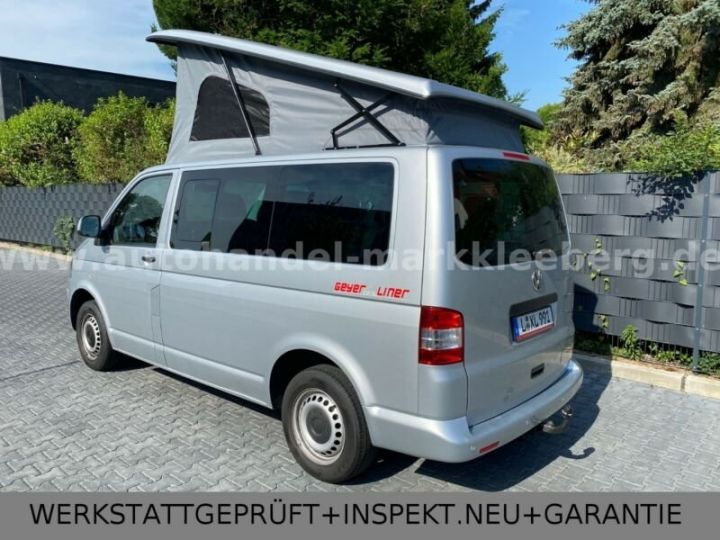 Volkswagen T5 #  CAMPER, 9 Places Argenté Peinture métallisée - 3