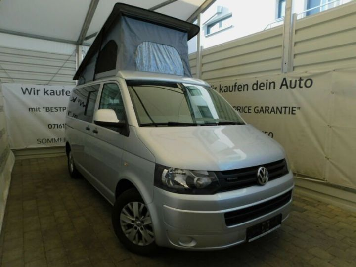 Volkswagen T5 # Inclus Carte Grise, Malus écolo et livraison à votre domicile # Argenté Peinture métallisée - 1