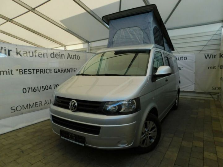 Volkswagen T5 # Inclus Carte Grise, Malus écolo et livraison à votre domicile # Argenté Peinture métallisée - 2
