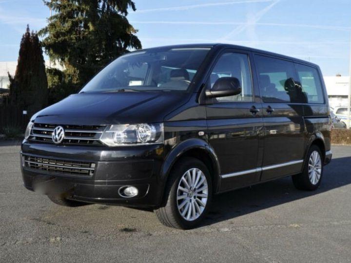 Volkswagen T5 multivan highline  noir - 1