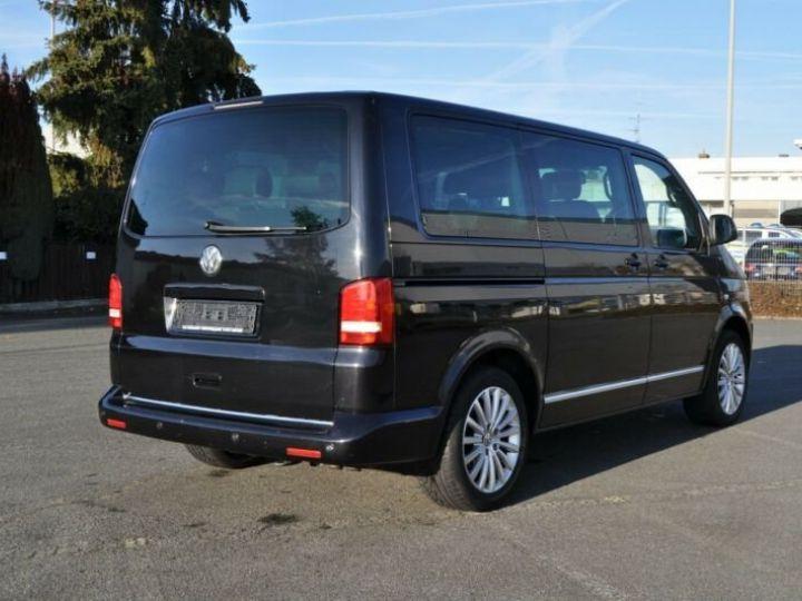Volkswagen T5 multivan highline  noir - 3