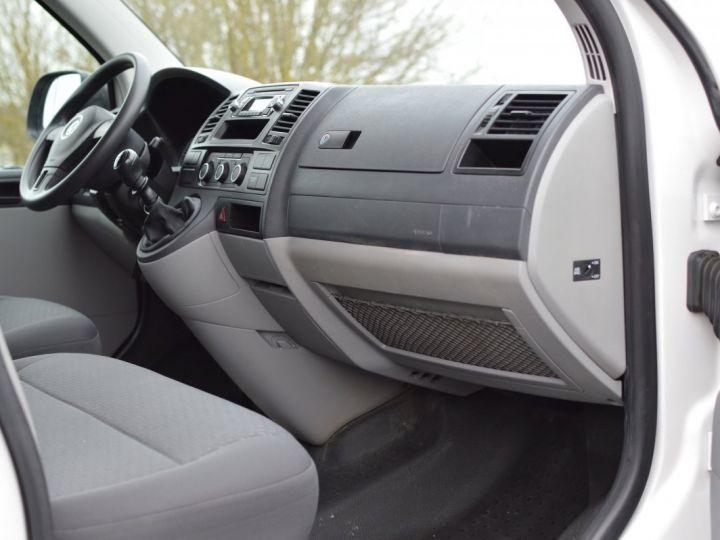 Volkswagen T5 VW TRANSPORTER T5 2.0 TDI 102CH 1ère main CLIM ENTRETIEN EXCLU. VW TVA RÈCUP BLANC - 12