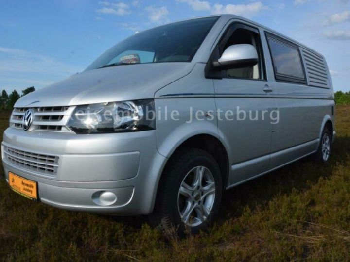 Volkswagen T5 Wohnmobil California,inclus CG,malus ecolo,livraison à votre domicile Argenté Peinture métallisée - 4