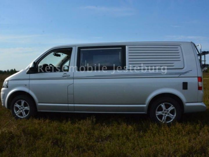 Volkswagen T5 Wohnmobil California,inclus CG,malus ecolo,livraison à votre domicile Argenté Peinture métallisée - 5
