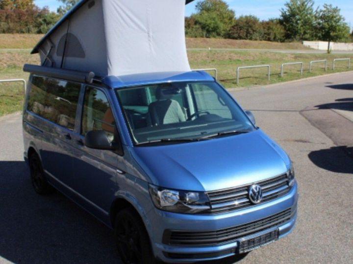 Volkswagen T6 CALIFORNIA 2.0 TDI 150 BLUEMOTION TECHNOLOGY COAST bleu métal - 2