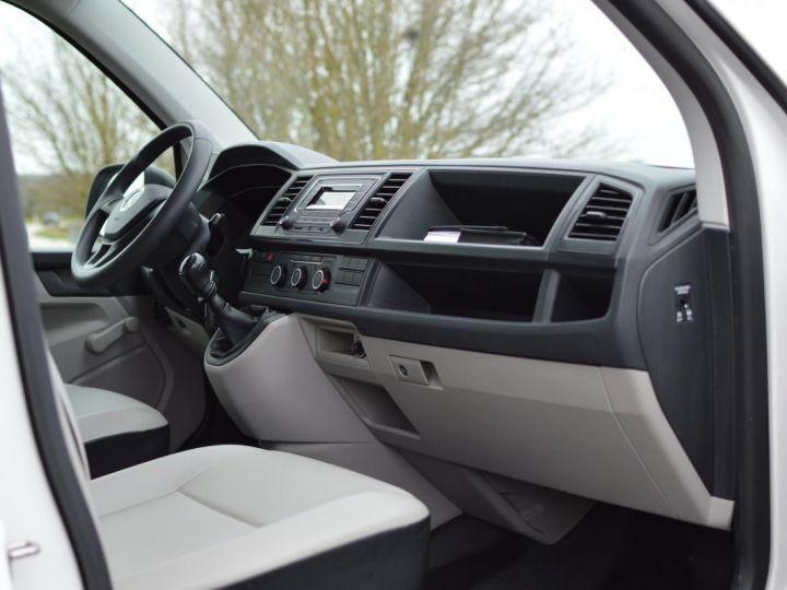 Volkswagen T6 VW TRANSPORTER T6 2.0 TDI 102CH 1ère main CLIM RADAR BLUETOOTH PARFAIT ÉTAT TVA RÈCUP BLANC - 12