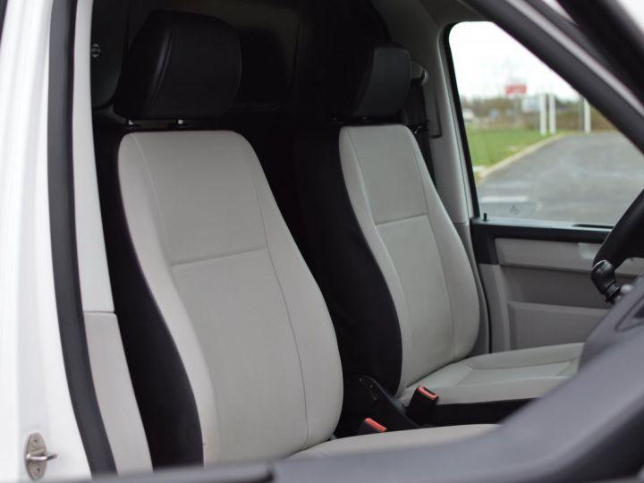 Volkswagen T6 VW TRANSPORTER T6 2.0 TDI 102CH 1ère main CLIM RADAR BLUETOOTH PARFAIT ÉTAT TVA RÈCUP BLANC - 14