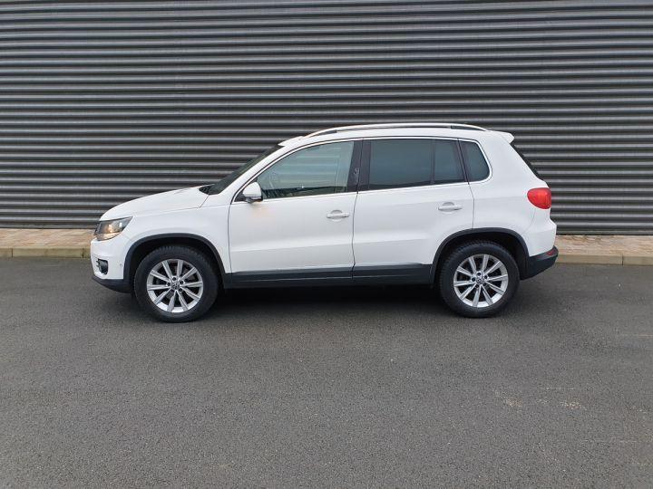 Volkswagen Tiguan 2.0 tdi 140 carat 4 motion Blanc Occasion - 4