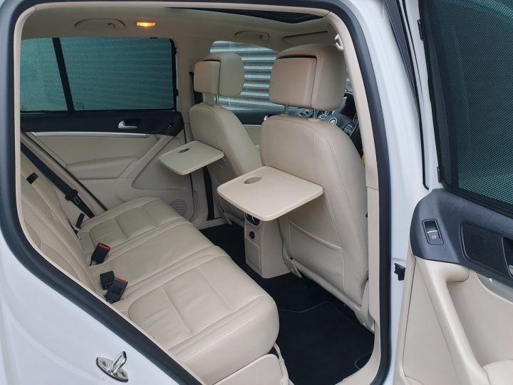 Volkswagen Tiguan 2.0 tdi 140 carat 4 motion Blanc Occasion - 6
