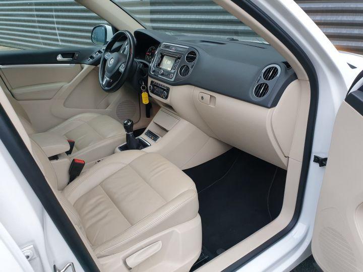 Volkswagen Tiguan 2.0 tdi 140 carat 4 motion Blanc Occasion - 7