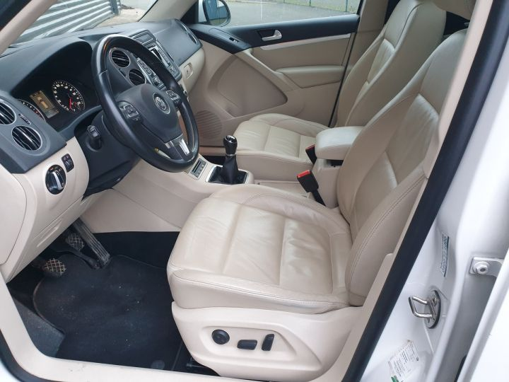 Volkswagen Tiguan 2.0 tdi 140 carat 4 motion Blanc Occasion - 8
