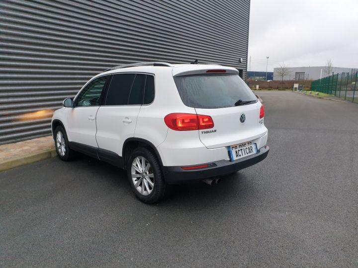 Volkswagen Tiguan 2.0 tdi 140 carat 4 motion Blanc Occasion - 20