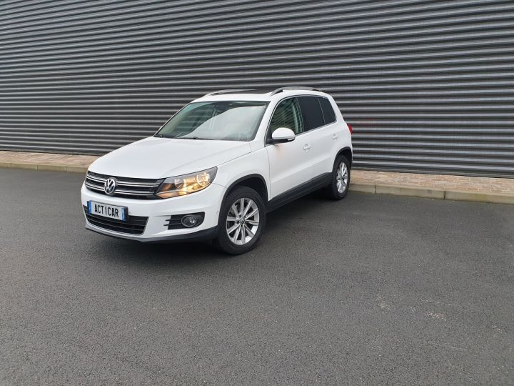 Volkswagen Tiguan 2.0 tdi 140 carat 4 motion Blanc Occasion - 21