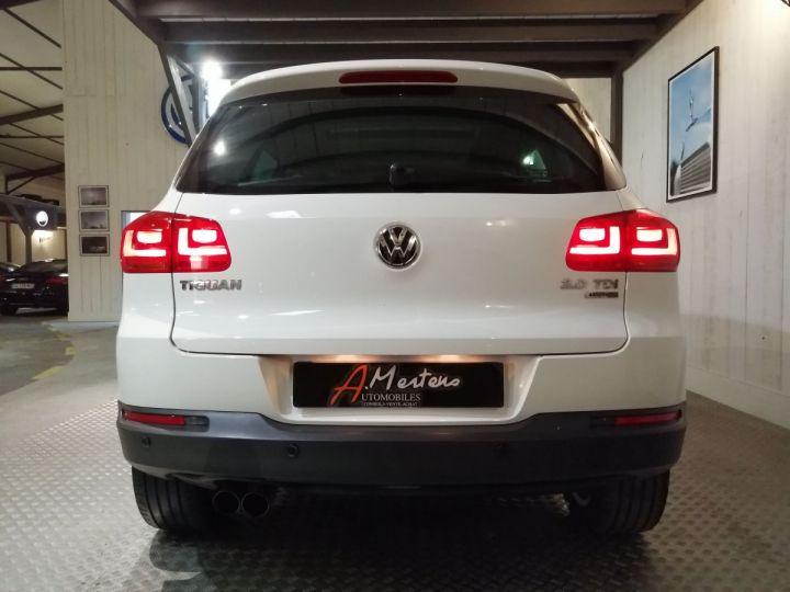Volkswagen Tiguan 2.0 TDI 140 CV CARAT DSG 4MOTION Blanc - 4