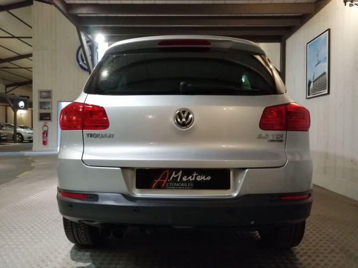 Volkswagen Tiguan 2.0 TDI 140 CV LOUNGE 4MOTION DSG Gris - 4