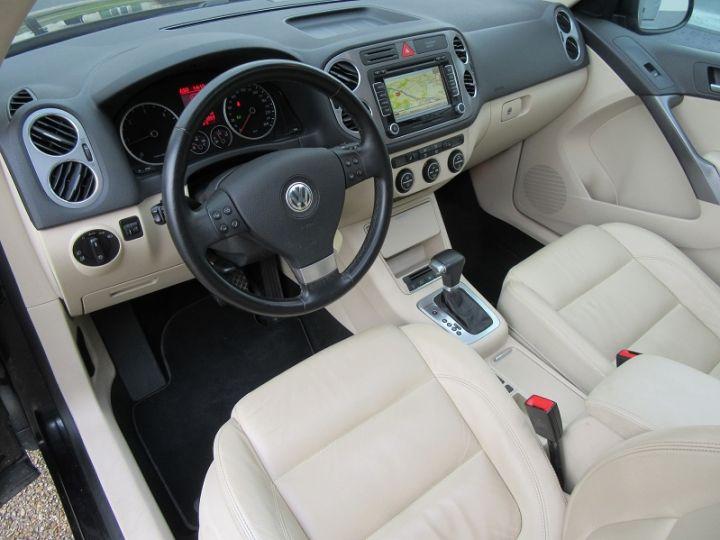 Volkswagen Tiguan 2.0 TDI 140CH FAP CARAT 4MOTION TIPTRONIC Noir Occasion - 2