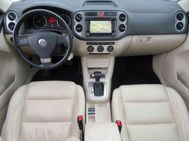 Volkswagen Tiguan 2.0 TDI 140CH FAP CARAT 4MOTION TIPTRONIC Noir Occasion - 9