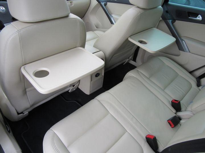 Volkswagen Tiguan 2.0 TDI 140CH FAP CARAT 4MOTION TIPTRONIC Noir Occasion - 10