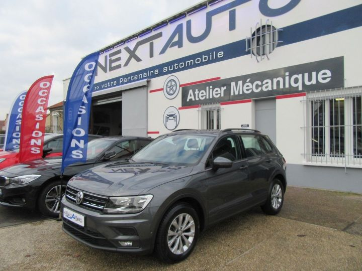 Volkswagen Tiguan 2.0 TDI 150CH EDITION Gris Fonce Occasion - 1