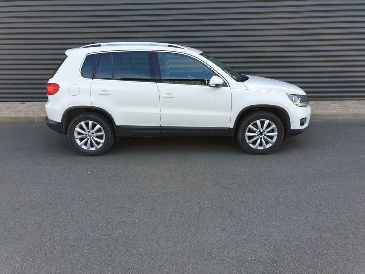 Volkswagen Tiguan ii 2.0 tdi 140 sortline 4motioni Blanc Occasion - 3